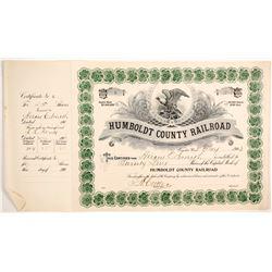 Humboldt County Railroad  83766