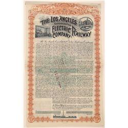 Los Angeles Cons. Electric Railway Company Bond  106860