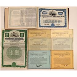 Railway Equipment & Realty Co. Specimen Stock Certificate Book (Key System) (47)  106856