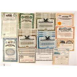 California Railroad Stocks (30+)  83846
