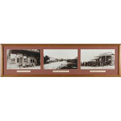 Framed photos of Wadsworth (3)  87663