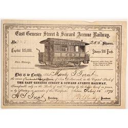 East Genesee St & Seward Ave Railway  83760