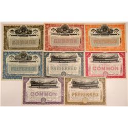 Hudson & Manhattan Railroad Co. Stock Certificates  106894