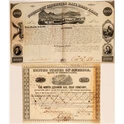 North Lebanon Rail Road Company Bonds  107414