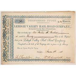 Lehigh Valley Rail Road Co.  83826