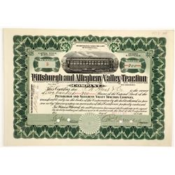 Pittsburgh & Allegheny Valley Traction Co  83814