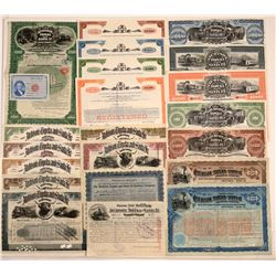 Atchison, Topeka & Santa Fe Railway Co. Stock & Bond Collection (21)  106855
