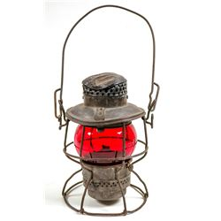 Erie Railroad Red Globe Lamp  109545