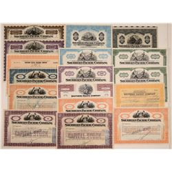 Southern Pacific Railroad Co. Stock & Bond Collection  106752