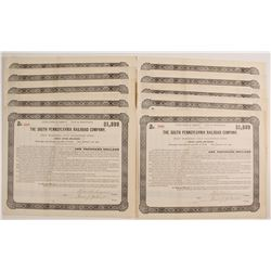 The South Pennsylvania Railroad Company Bond Certificates  80518