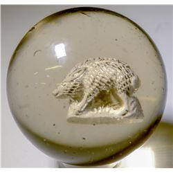"""Marble / Giant Sulphide """" Wild Boar.  100665"""