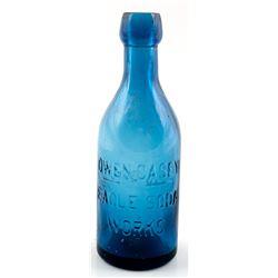 Soda Bottle / Owen Casey / Eagle Soda Works.  30535