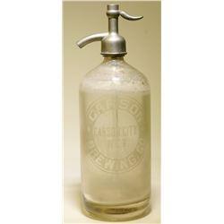 Seltzer Bottle / Carson City Brewing !!  106271