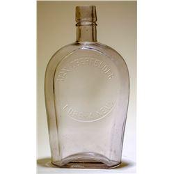 Whiskey Flask / Coffin /Max Oberfelder.  89505