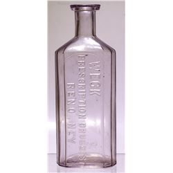 Large Rare Weck Medicine Bottle  57932