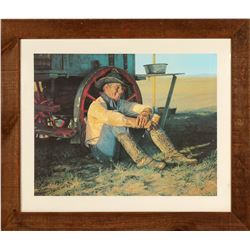 Cowboy On A Wheel/ Coors Beer Advertising Prints (3 Items)  109625