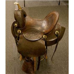 Astride Saddle made by Colorado Saddlery  106445