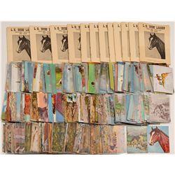 """Lewis H. """"Dude"""" Larsen postcards  100423"""