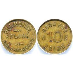 Delmonte Saloon Token, Hollister  108388