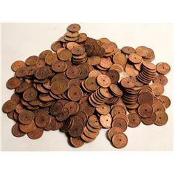 Dewey Trade Nevada Token Hoard, 3 Pounds!  61349