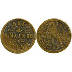 H. Mau Eureka, Nevada Token  108468