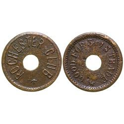Rochester Club Token  45026