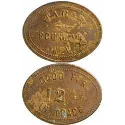 Tabor Oval Token, Round Mountain, Nevada  108383