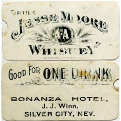 Bonanza Hotel, Silver City, Nevada Token  108466