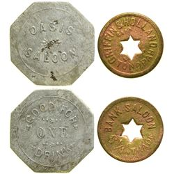 Bank/Oasis Saloon Tokens  90398
