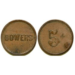 Bowers Mansion Token  104507