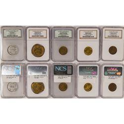 Western token Group with Alaska Saloon  108369