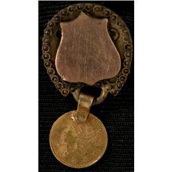 Cal FractionalGold Delegate Badge  108607