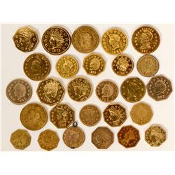 Cal Gold Token Collection  108612