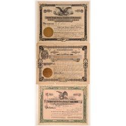 Three MInes Named Double Eagle - Colorado and Nevada  105921