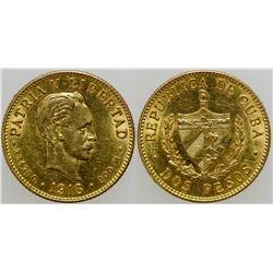 Dos Pesos Gold Coin  103113