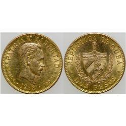 Dos Pesos Gold Coin  103114