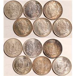 1880s Morgan Dollars  108836