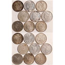 1881-1884 Morgan Dollars  109037