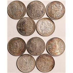 1890s Morgan Dollars  108835