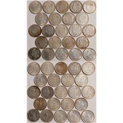1921 Morgan Dollars  109038