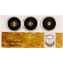 Apache Fractional Gold Coins  108126