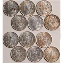 AU Morgan Dollars  109034