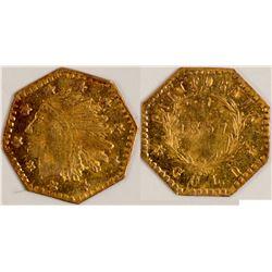 California Fractional Gold  108133