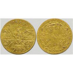 California Fractional Gold  108144