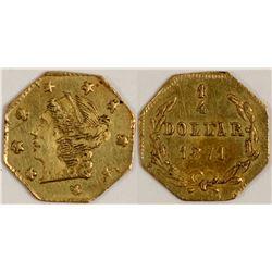 California Fractional Gold BG 717  108132
