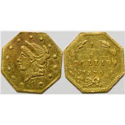 California Fractional Gold BG 755  108142