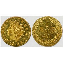 California Fractional Gold BG 878  108145