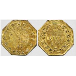 California Fractional Gold BG 949  108141