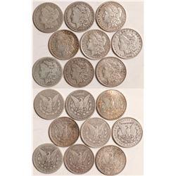 Circulated Morgan Dollars  108832