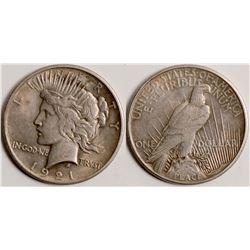 Rare Date Peace Dollar  109039